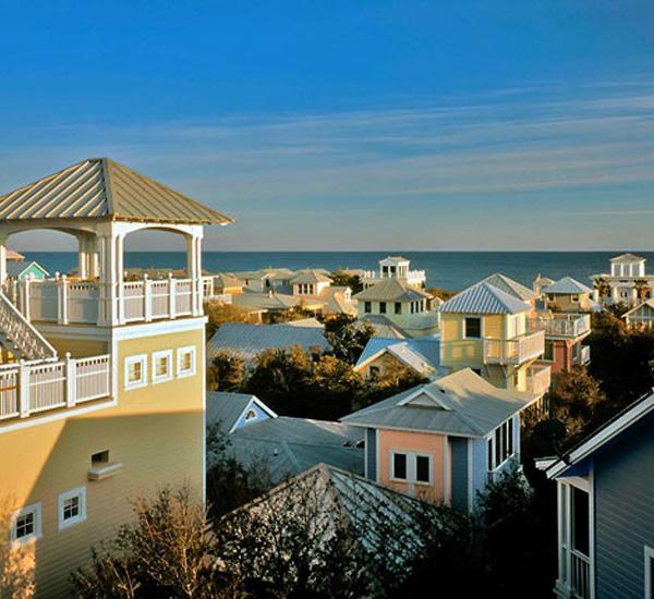 Seaside Vacation Homes in Seaside Florida