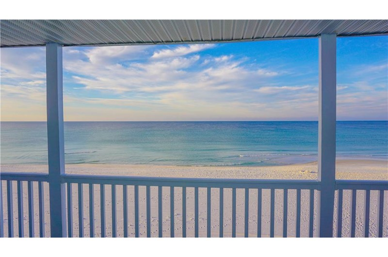 View from Sugar Dunes in Hwy. 30 A Florida