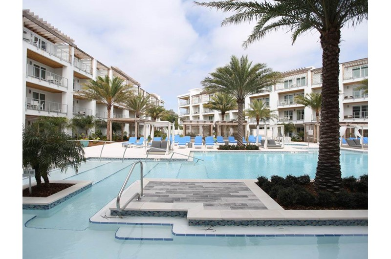 Huge pool area at The Pointe in Hwy. 30 A Florida