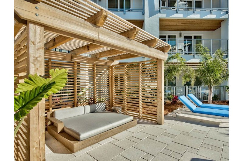 Cabana area at The Pointe in Hwy. 30 A Florida