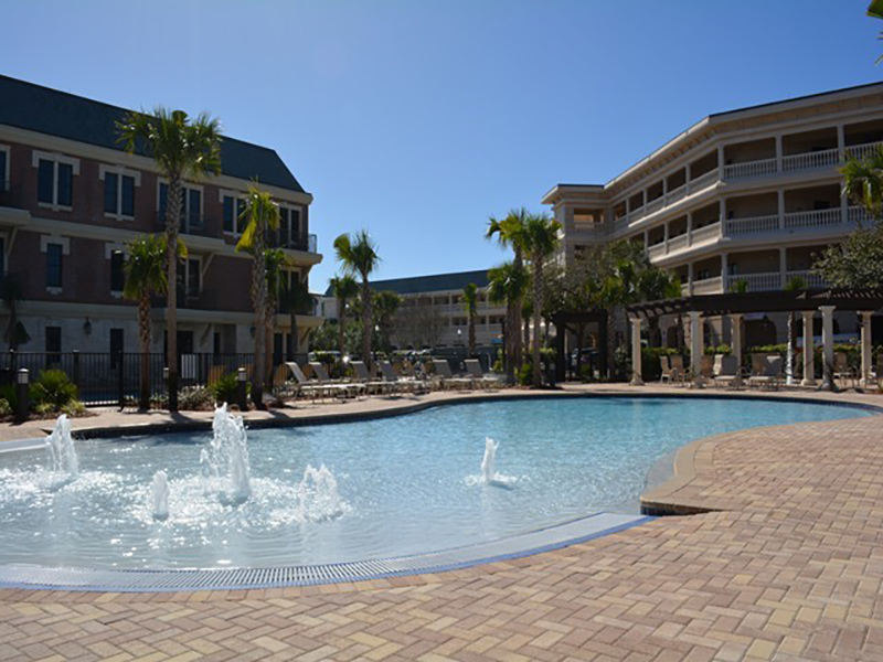 Lovely pool area at Villages of South Walton Rentals in Highway 30-A Florida