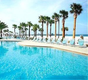 Hilton Clearwater Beach Resort Hotel in Clearwater Beach Florida