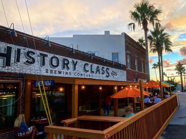 History Class Brewing Company in Panama City Beach Florida