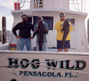 Hog Wild Fishing Charters in Pensacola Beach Florida