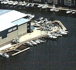 Holiday Harbor Marina in Pensacola Beach Florida