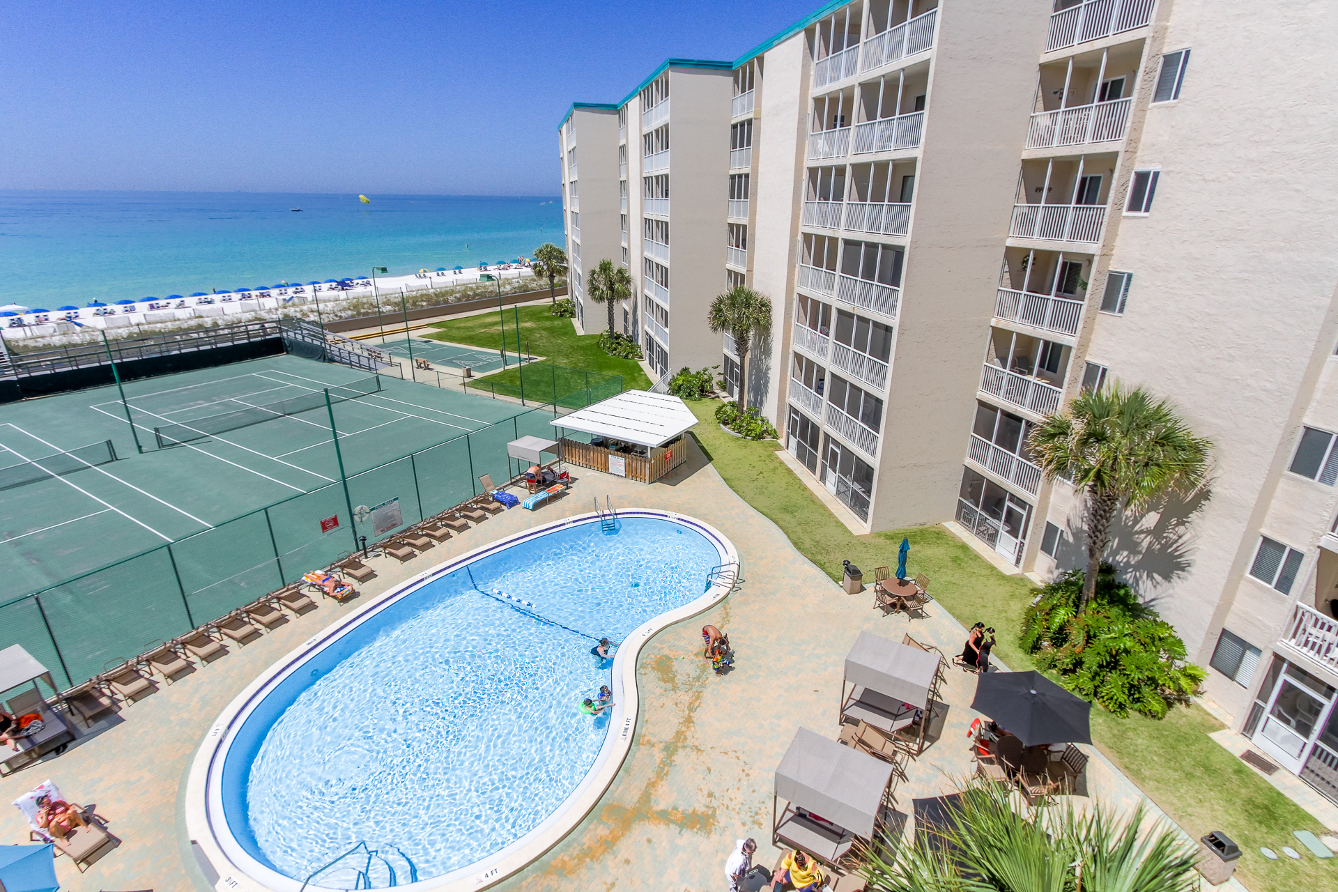 Holiday Surf & Racquet Club 515 Condo rental in Holiday Surf & Racquet Club in Destin Florida - #3