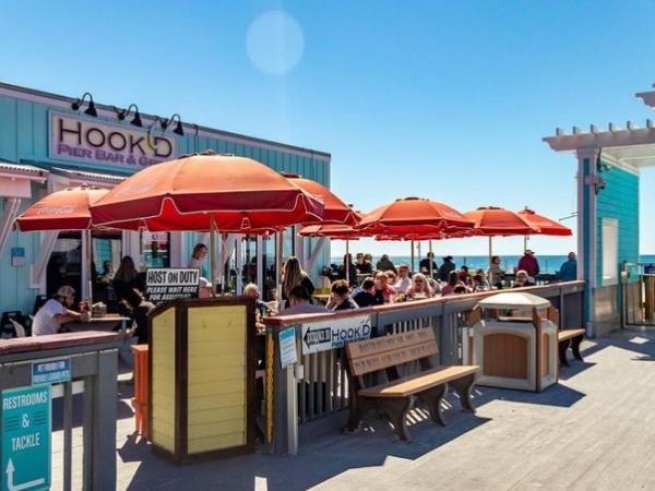 Hook'd Pier Bar & Grill in Panama City Beach Florida