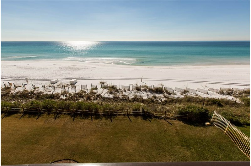 Lovely water views from Huntington by the Sea in Destin Florida