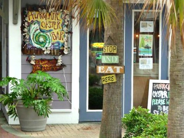 Hurricane Oyster Bar and Grill in Highway 30-A Florida