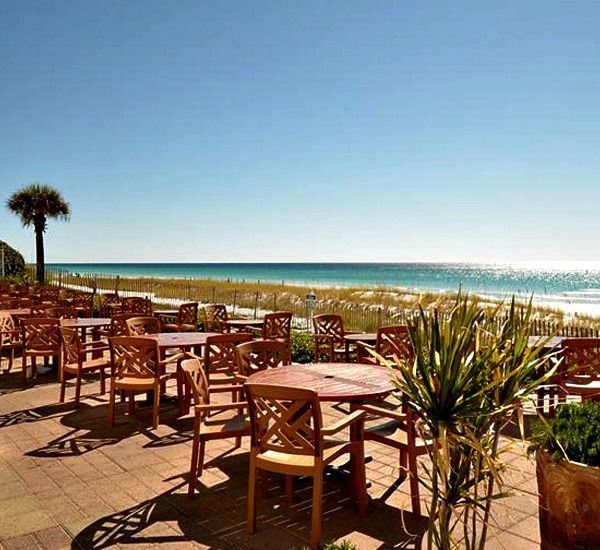 Dining at the Inn at Crystal Beach in Destin Florid.a