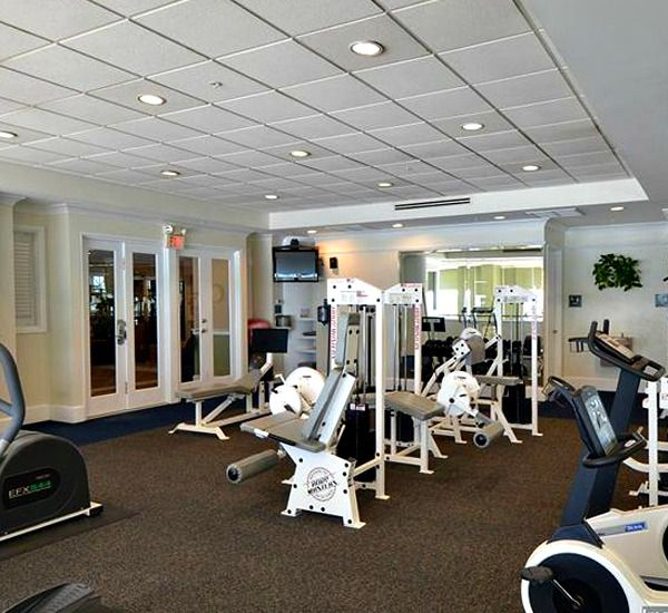 Fitness Center At The Inn Crystal Beach In Destin Florida
