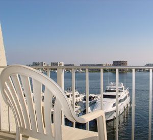 Private balconies at the Inn on Destin Harbor  in Destin Florida