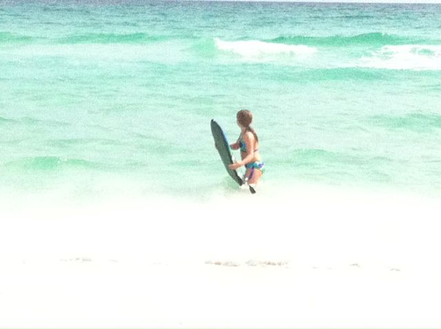 The ocean at Isla Blanca Townhomes in Destin Florida