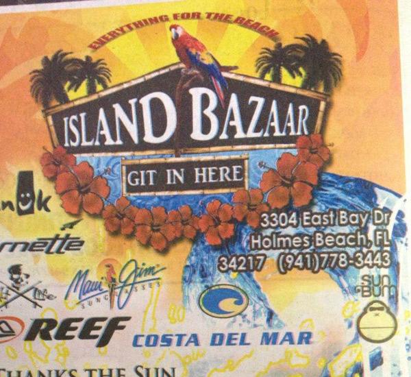 Island Bazaar in Anna Maria Island Florida