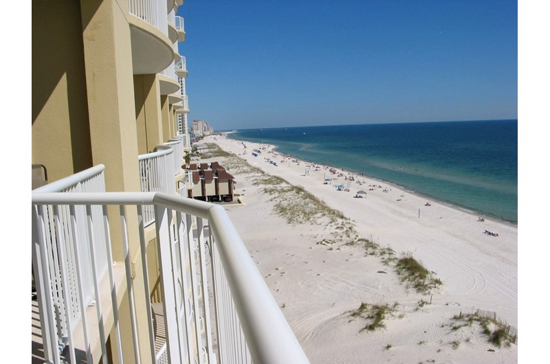 View of the Gulf from unit at Island Royale in Gulf Shores AL
