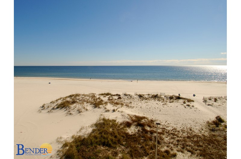 Wonderful beachfront views from Island Winds East in Gulf Shores Alabama