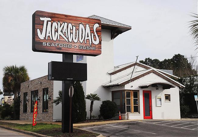 Jackacuda's Seafood & Sushi in Destin Florida