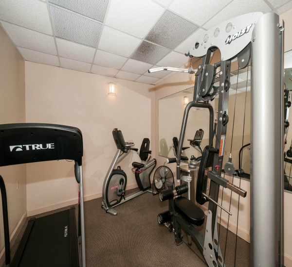 Fitness Center at Jetty East in Destin Florida