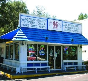 King Neptune's Seafood Restaurant  in Gulf Shores Alabama