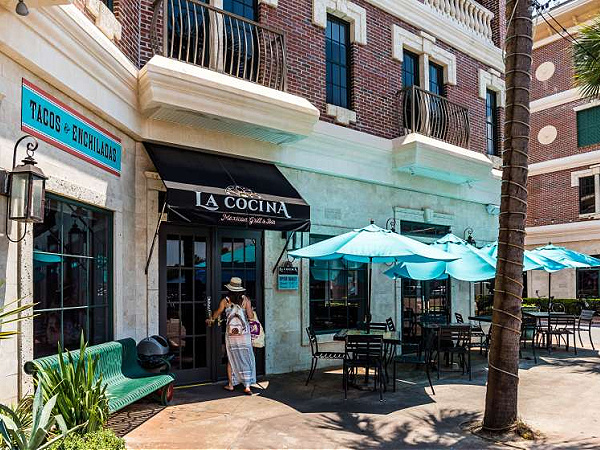 La Cocina Mexican Grill and Bar in Highway 30-A Florida