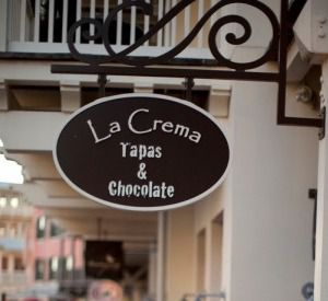 La Crema Tapas and Chocolate in Highway 30-A Florida