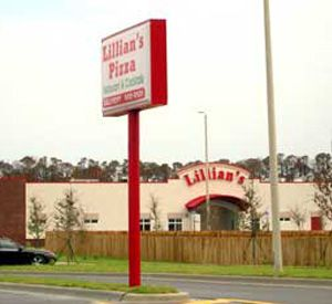 Lillian's Pan Pizza in Perdido Key Florida