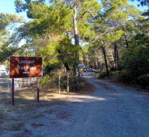 Longleaf Greenway Trail in Highway 30-A Florida