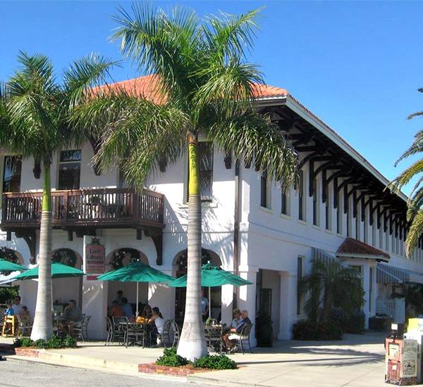 Loose Caboose Restaurant in Boca Grande Florida