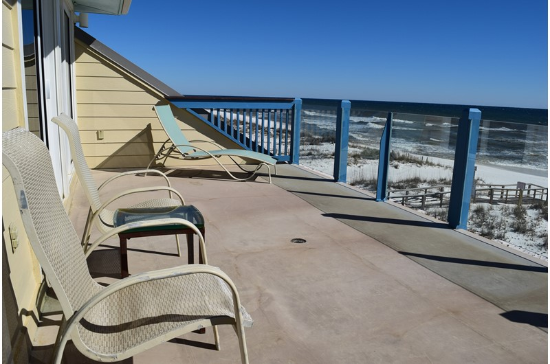 Luxury vacation home on the beach in Pensacola Florida