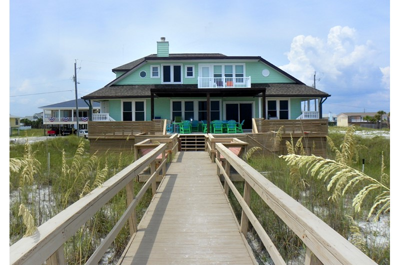 7 bedroom luxury vacation home in Pensacola Beach FL