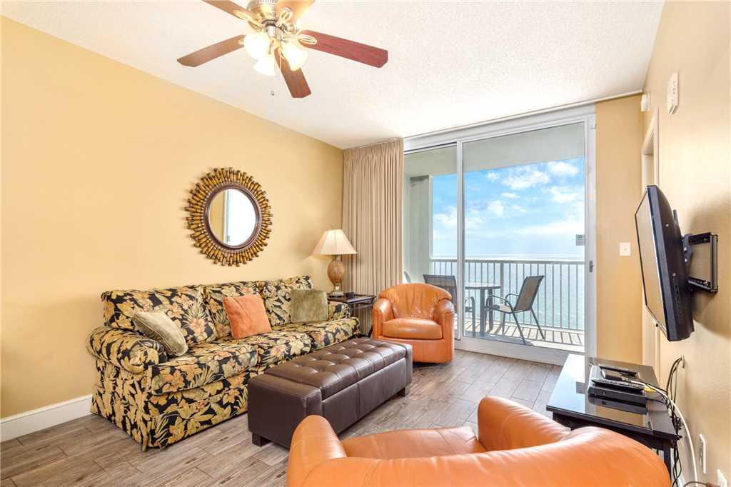 Majestic 1206 East - Tower II 3 Bedroom Beachfront Wi-Fi Pool Sleeps 8 Condo rental in Majestic Beach Resort in Panama City Beach Florida - #2
