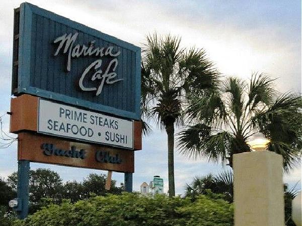 Marina Cafe in Destin Florida