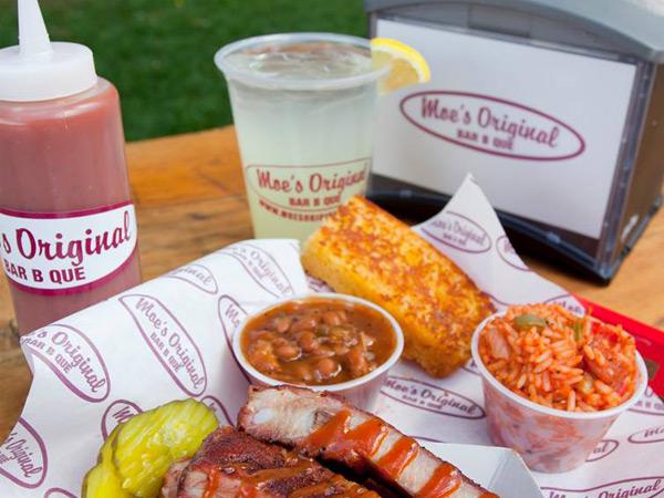 Moe's Original BBQ at Buck's Smokehouse in Destin Florida