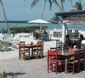 Morada Bay Beach Cafe in Islamorada Florida