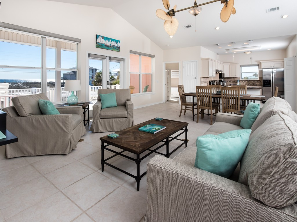 Lifes A Peach! House / Cottage rental in Navarre Beach House Rentals in Navarre Florida - #1