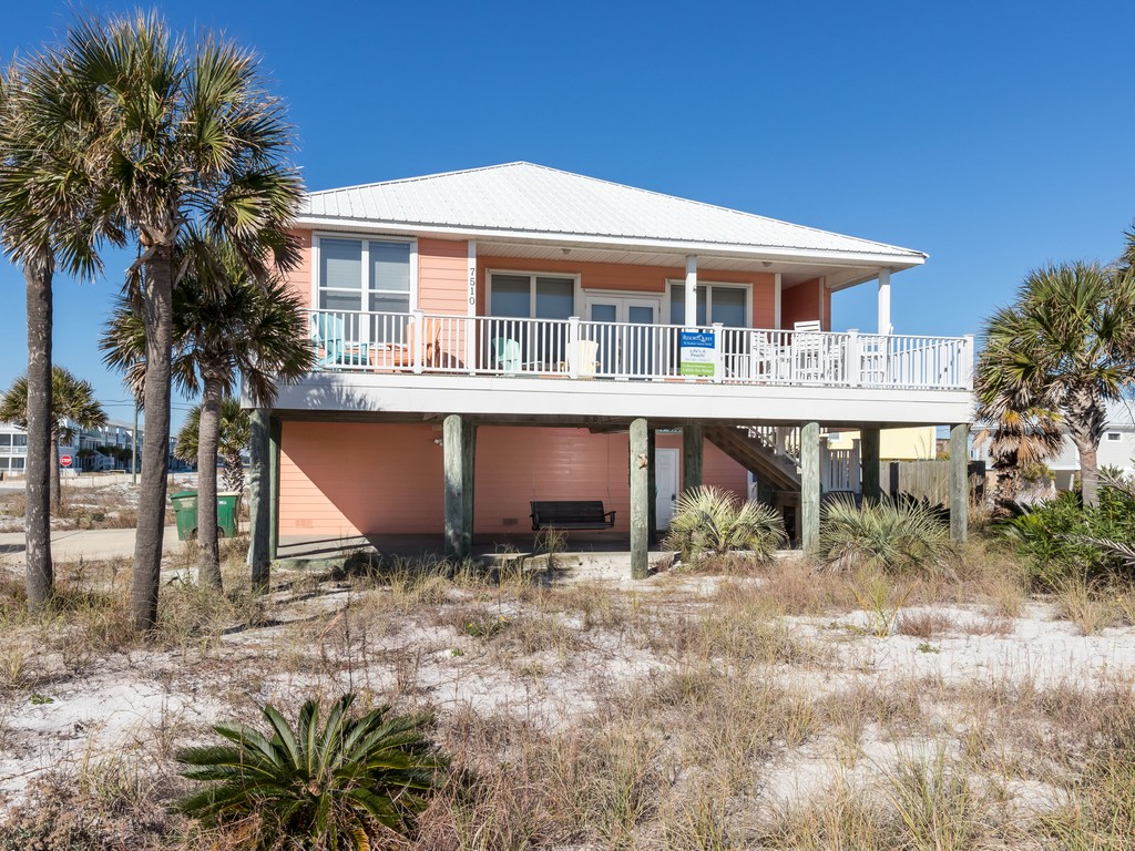 Lifes A Peach! House / Cottage rental in Navarre Beach House Rentals in Navarre Florida - #2