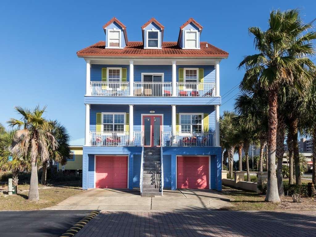 Periwinkle Parakeet House/Cottage rental in Navarre Beach House Rentals in Navarre Florida - #1