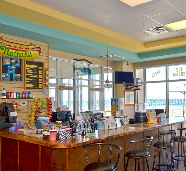 Snack bar at Summerwinds Resorts in Navarre Florida