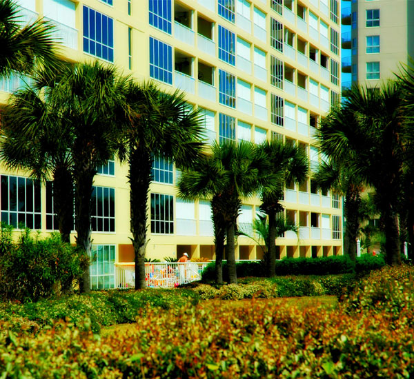 Oceania is a gated property on Holiday Isle in Destin Florida
