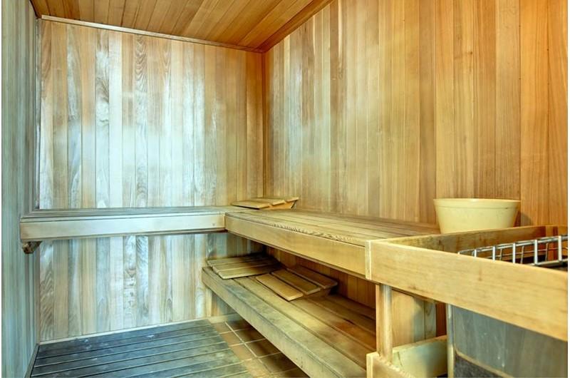 Sauna at Admirals Quarters Orange Beach
