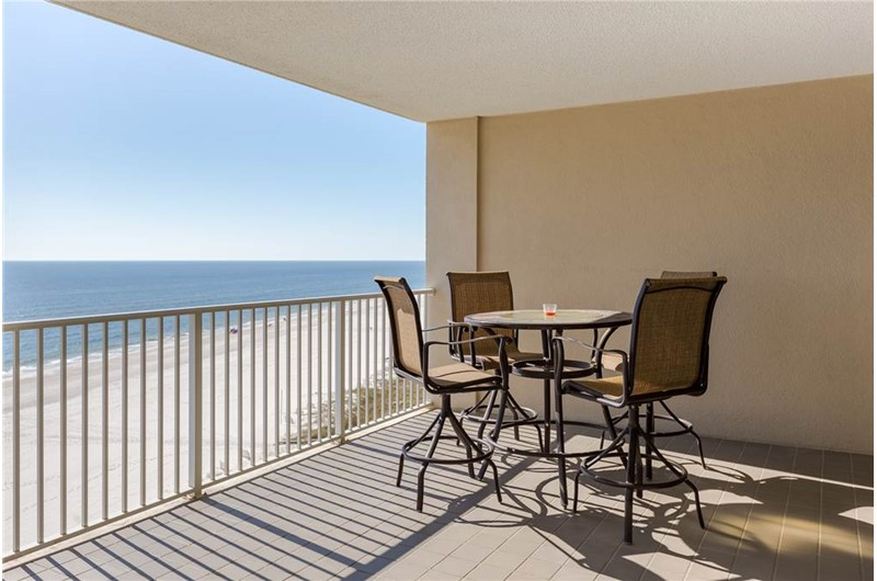 Balcony at Bluewater in Orange Beach Alabama