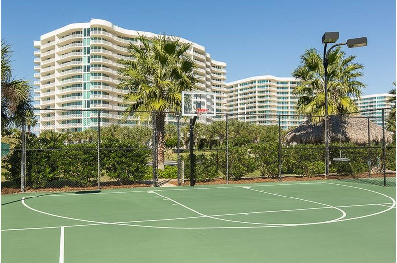 Grab a pick-up game of basketball at Caribe Resort in Orange Beach Alabama
