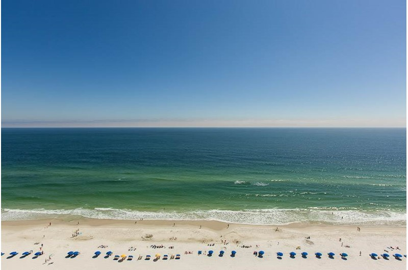 Gulf view from Escapes! To the Shores in Orange Beach Alabama