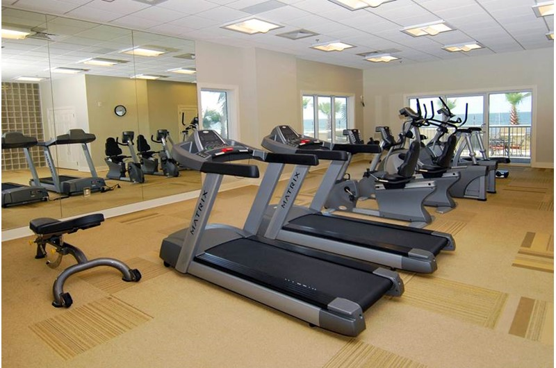 Gym at Escapes! To the Shores in Orange Beach AL