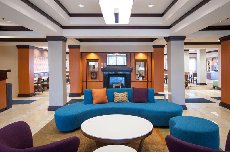 Lobby of Fairfield Inn in Orange Beach AL