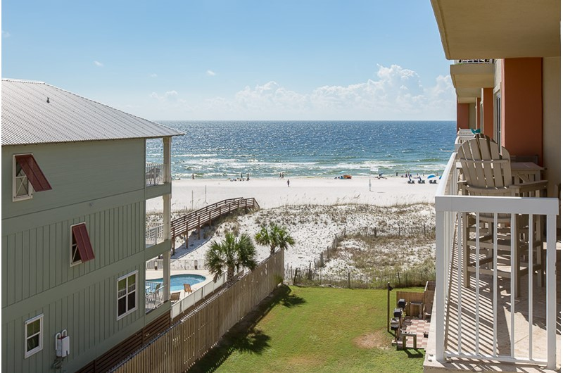 Great view from  Harbour Place in Orange Beach Alabama
