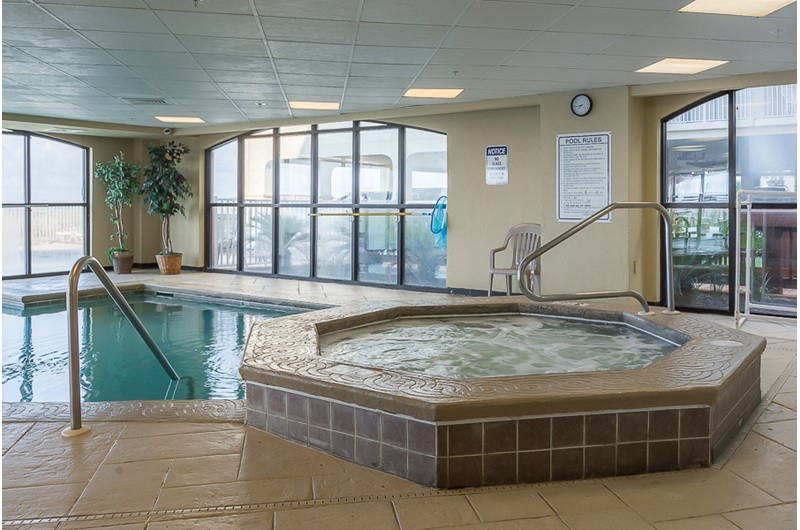 Relax in the hot tub at Harbour Place in Orange Beach Alabama