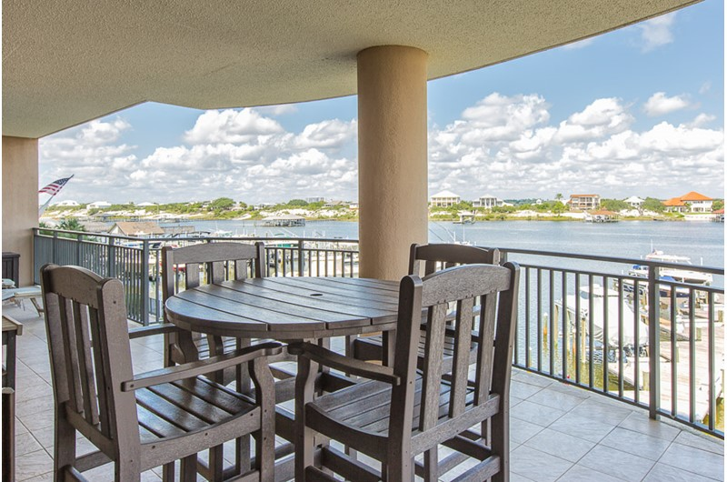 View from your balcony at Legacy Key Orange Beach Alamaba