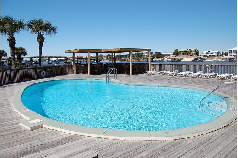 Beautiful pool at Lei Lani in Orange Beach AL