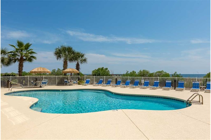 Pool at marlin Key in Orange Beach Alabama